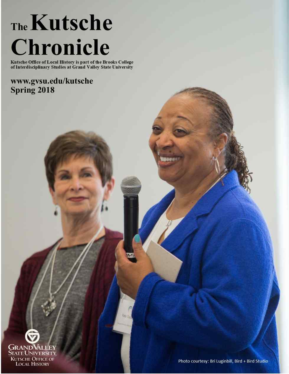 Spring 2018 Chronicle